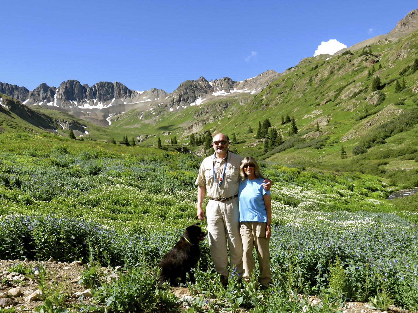 American Basin in Colorado's San Juan Mountains
