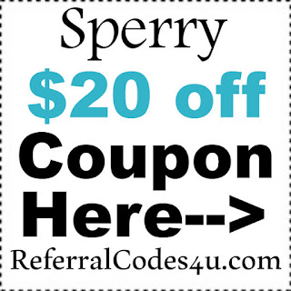 Sperry New Customer Coupon 2019, Sperry.com Discount Code January, February, March, April