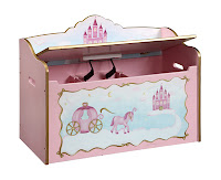 Princess Theme Toy Box