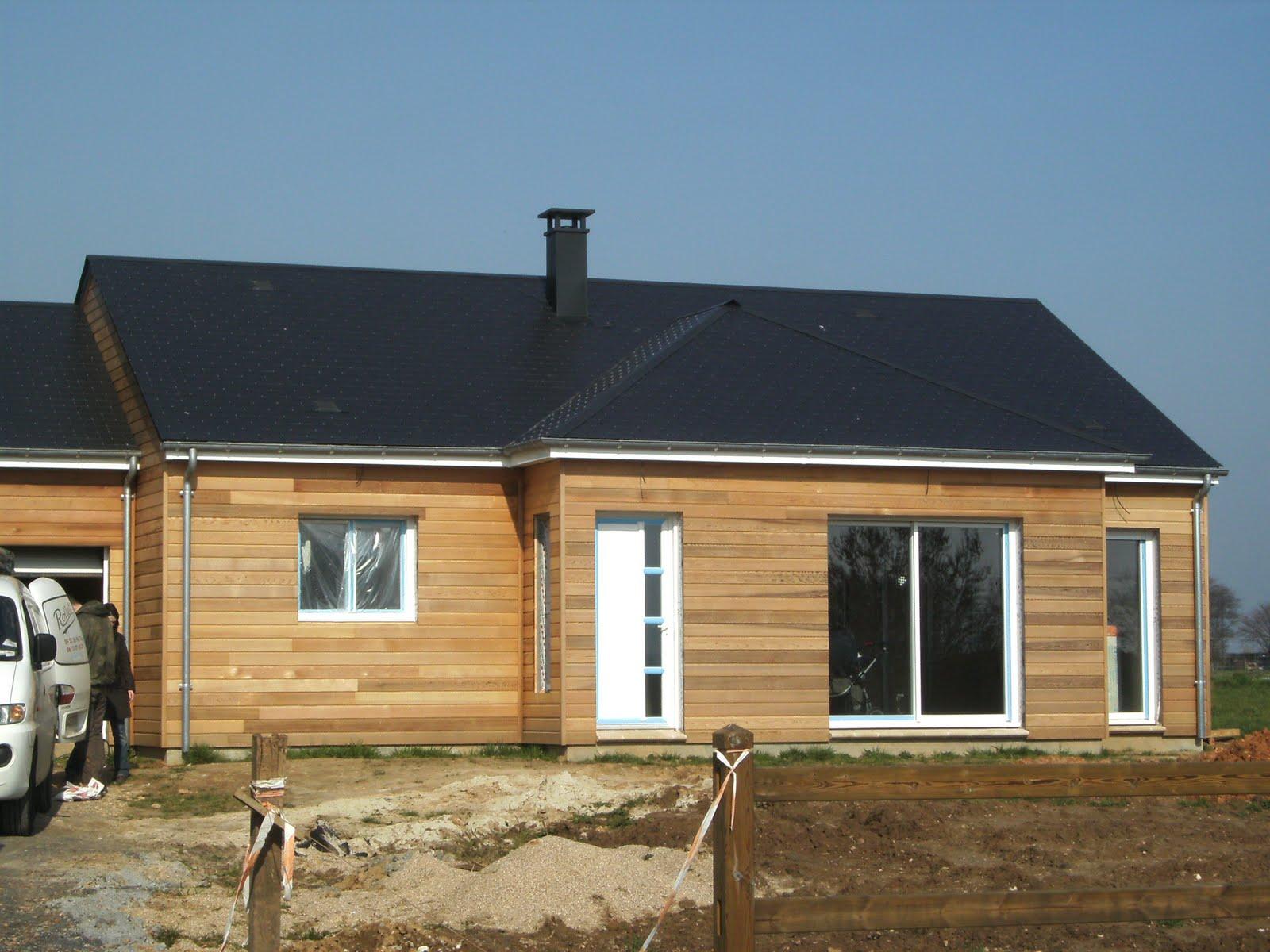 Le blog la construction d 39 une maison ossature bois for Construction maison en bois orleans