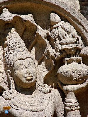 Guardianes de piedra - Polonnaruwa