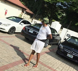 Photos: Son of Aisha Buhari's Senior Special Assistant shows off his cars...including a Lamborghini
