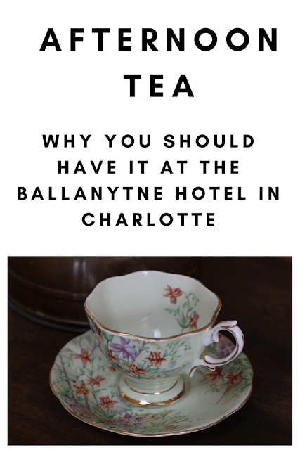 North Carolina Travel: Afternoon Tea at the Ballanytne Hotel in Charlotte, NC