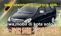 Perewaan mobil solo menyewakan mobil +driver berpengalaman