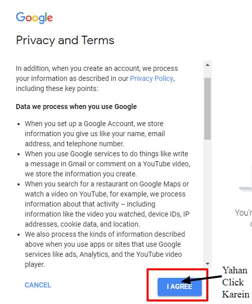 Privacy policy - Email Id banane ka Tarika
