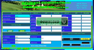 Aplikasi Administrasi Dan Laporan Sekolah Format Xlsm Otomatis