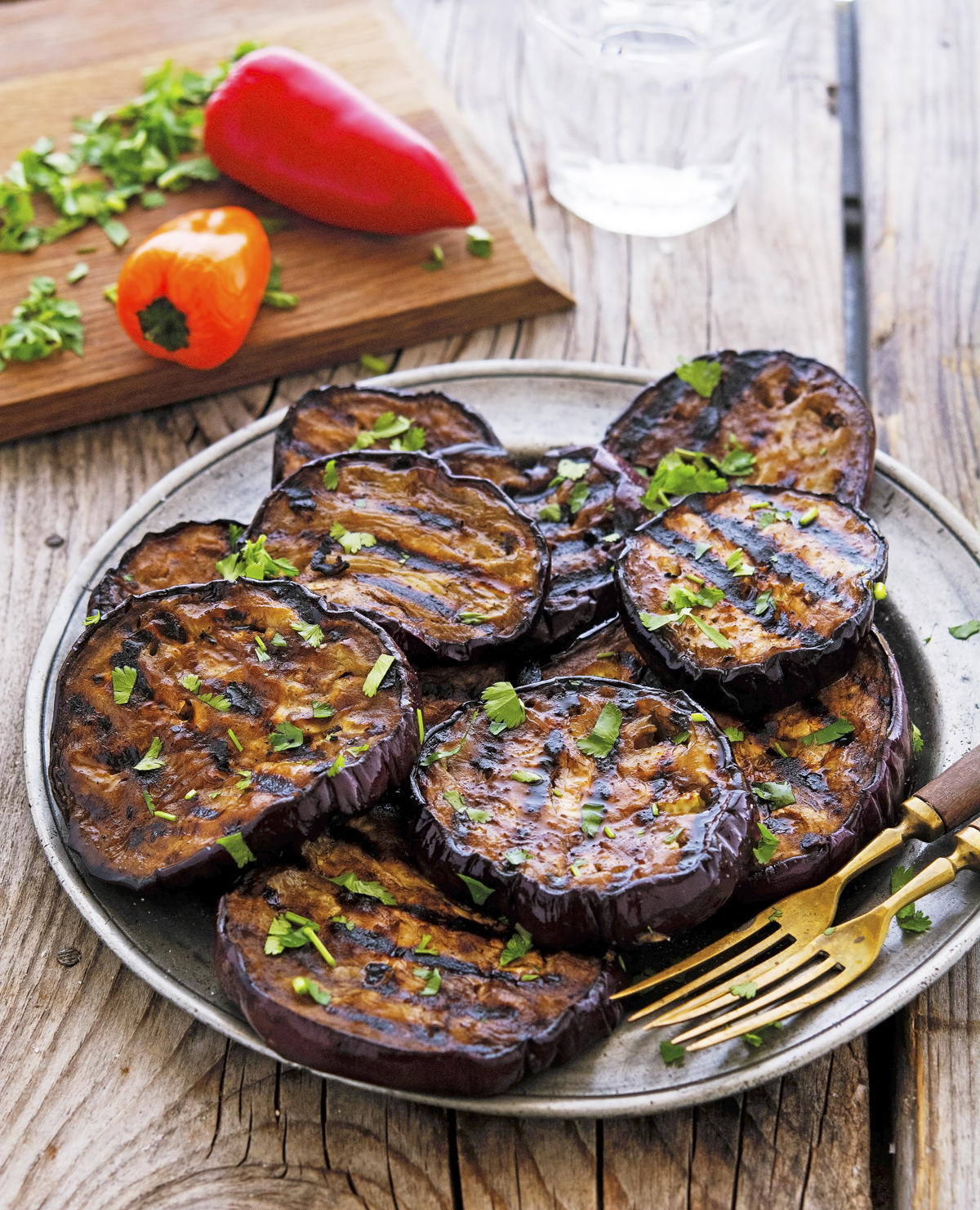 Vegetarian BBQ Recipes - Grilled Eggplant - Adelaide Outdoor Kitchens