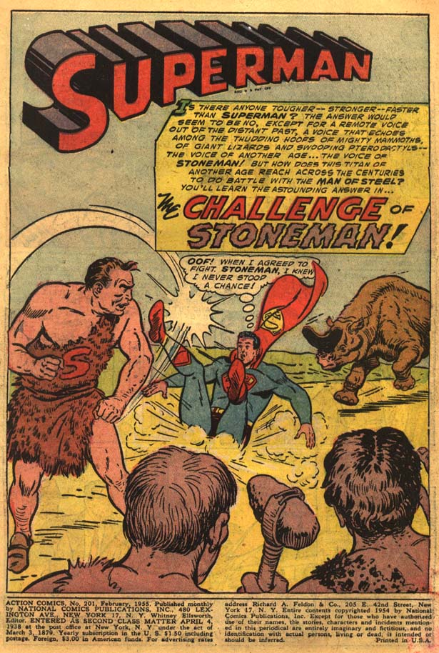 Read online Action Comics (1938) comic -  Issue #201 - 3