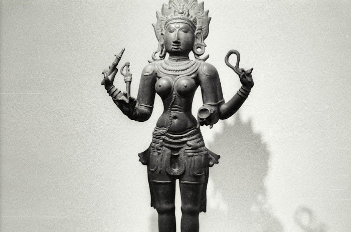 New Delhi, National Museum, Chola, Vishnu, © L Gigout, 1991