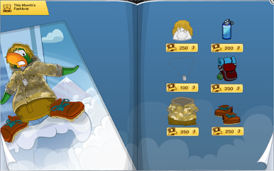 Club Penguin April 2016 Penguin Style Catalog Cheats