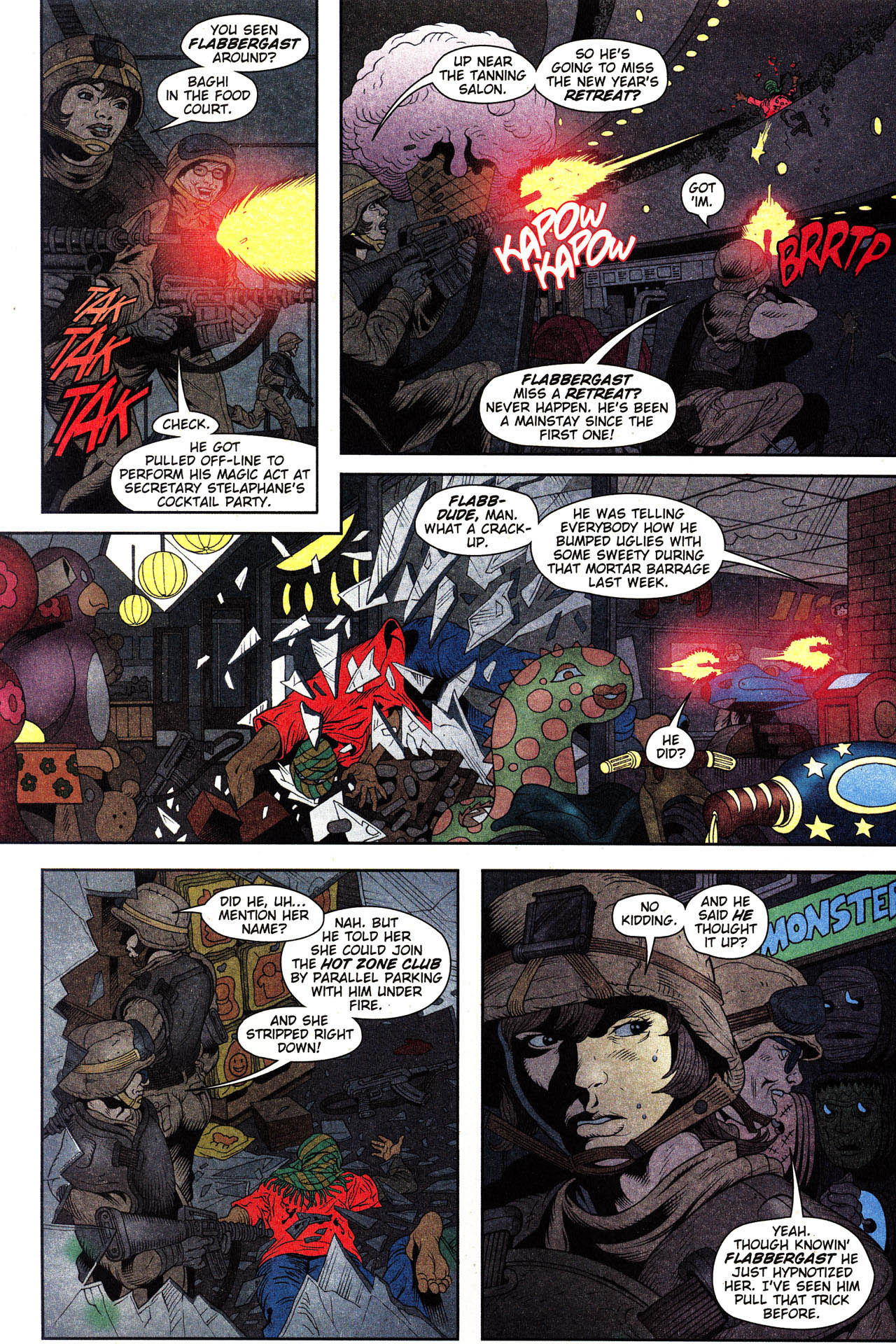 Read online Army @ Love comic -  Issue #2 - 9