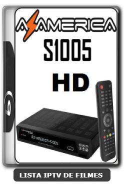 Azamerica S1005 HD Nova Atualização Estabilidade de Conexão com os Serviços de IKS V1.09.21658 - 25-06-2020