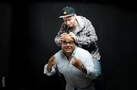 """Producción fotográfica para """"A toda máquina"""", programa radial de FM 92 de Roldán, realizada en el estudio de Positive por Cristian Moriñigo, con Guillermo Bravo y Facu Demarco"""