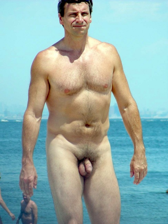 Mens Naked Beach