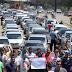 Motoristas de aplicativos de transporte protestam contra a PLC 28/2017