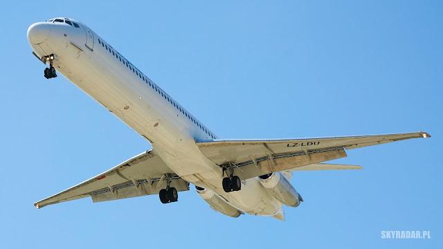 LZ-LDU - McDonnell Douglas MD82 - Bulgarian Air Charter