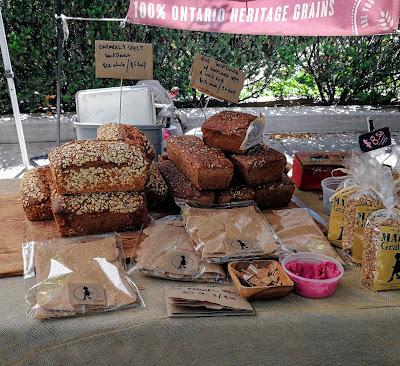 Toronto Farmers Market, Fresh bread