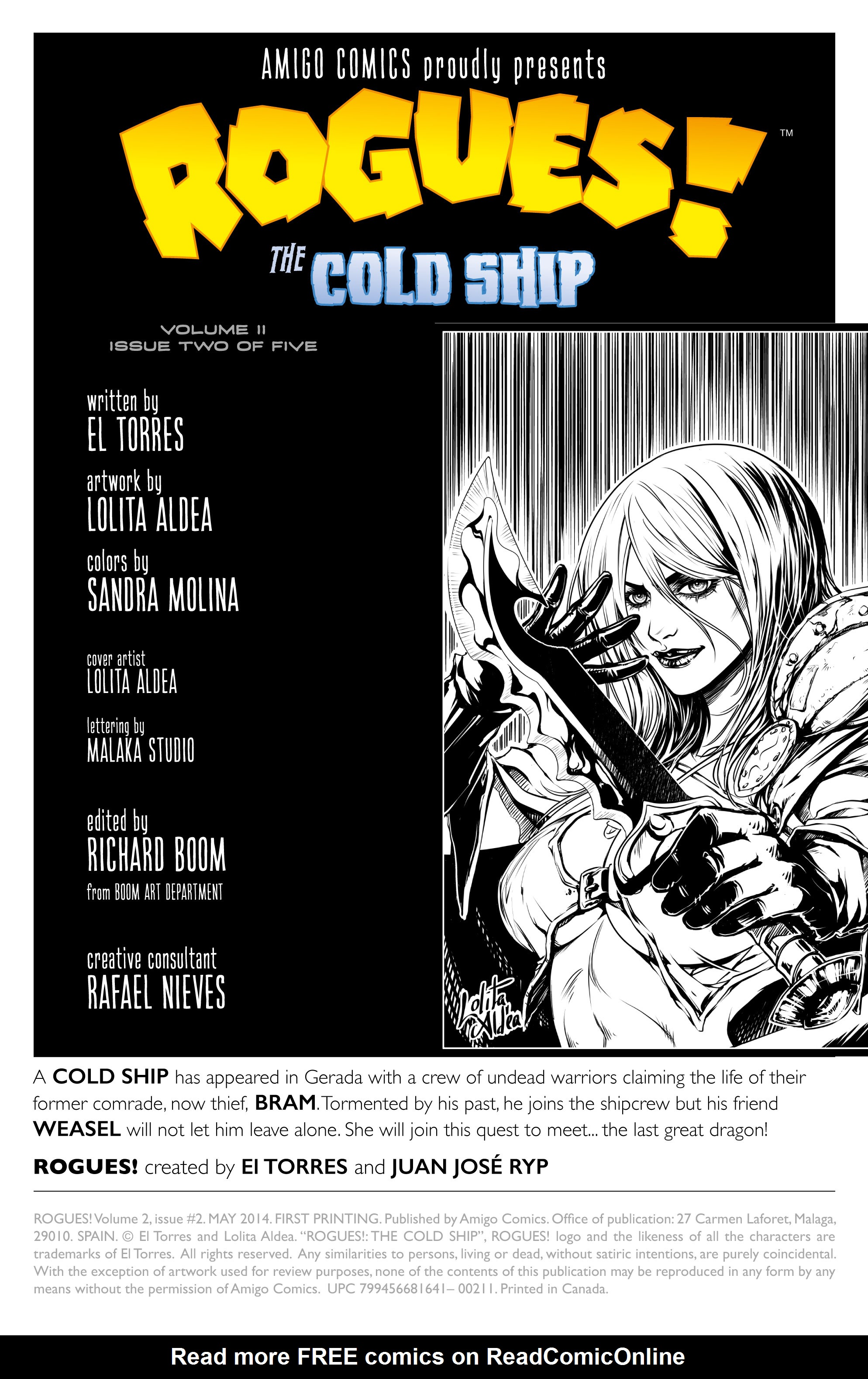 Read online Rogues! (2014) comic -  Issue #2 - 2