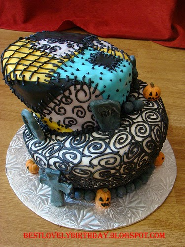 Nightmare Before Christmas Cake Ideas 2015 The Most