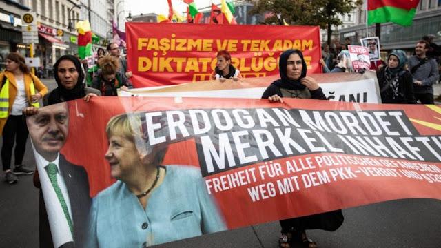 Η Άγγελα Μέρκελ δεν θα παραβρεθεί στο επίσημο προεδρικό δείπνο προς τιμή του Ταγίπ Ερντογάν