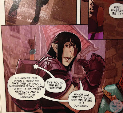 Rat Queens, Vol. 2 panel photo