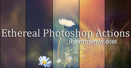 Free Ethereal Photoshop Actions