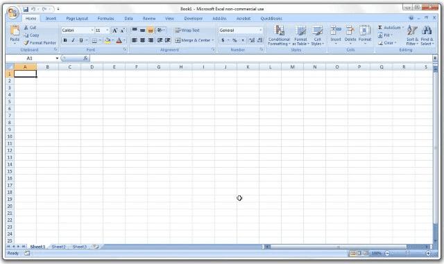 Microsoft Excel 2007 (v12.0)