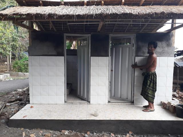 Inilah Fasilitas MCK Dibangun Perkumpulan Skala dan CSR Sampoerna Untuk Indonesia di Lombok