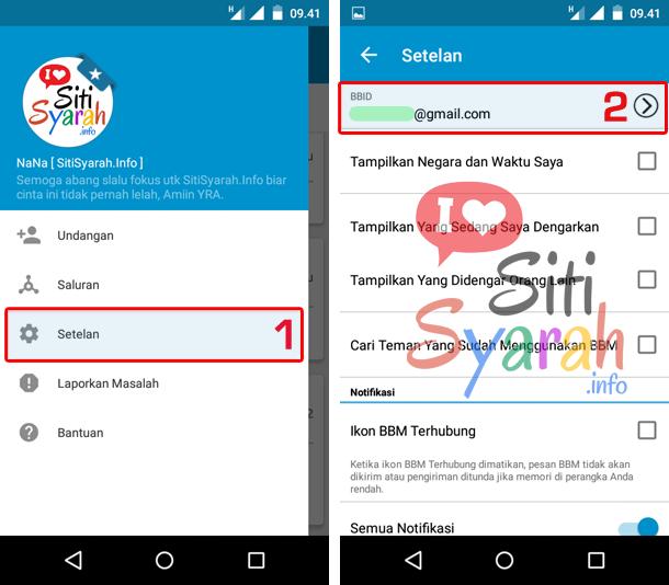 Lupa BBID BBM Android