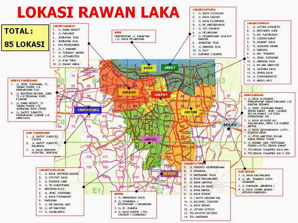 9. Mengenal Pemda DKI: Peta Peta Penting Jakarta
