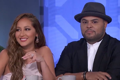 Adrienne Bailon Israel houghton marriage