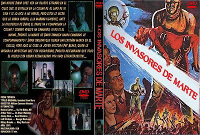 Carátula: Los invasores de Marte (1953)