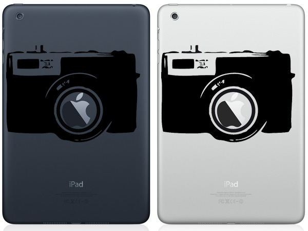 Camera iPad Mini Decals