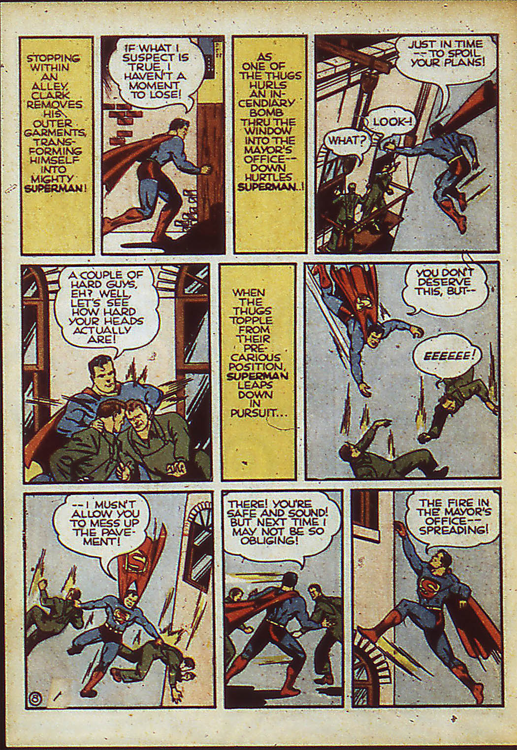 Read online Action Comics (1938) comic -  Issue #37 - 10