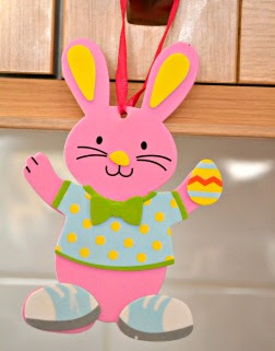 Easter decorations @ ups and downs, smiles and frowns