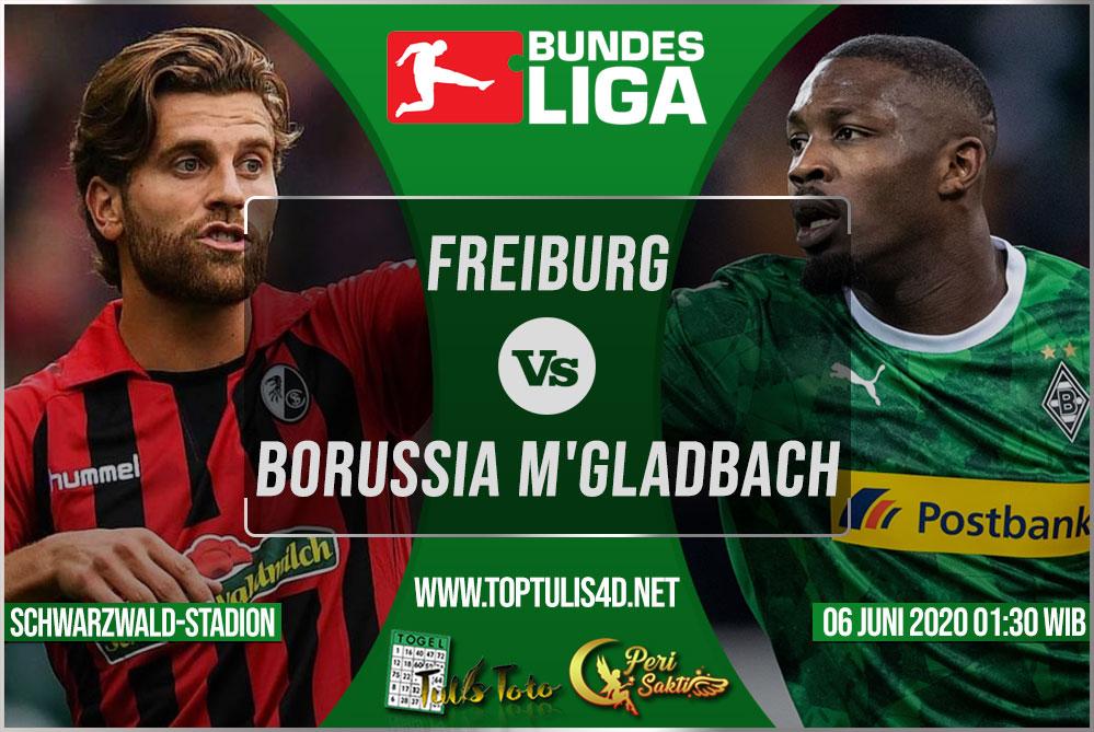 Prediksi Freiburg vs Borussia M'gladbach 06 Juni 2020