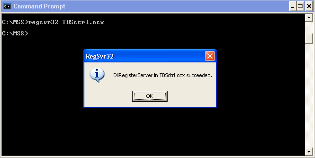 Metasolv Blog: ActiveX Control 'TBSCtrl.ocx' needs to be installed to use Metasolv External Links