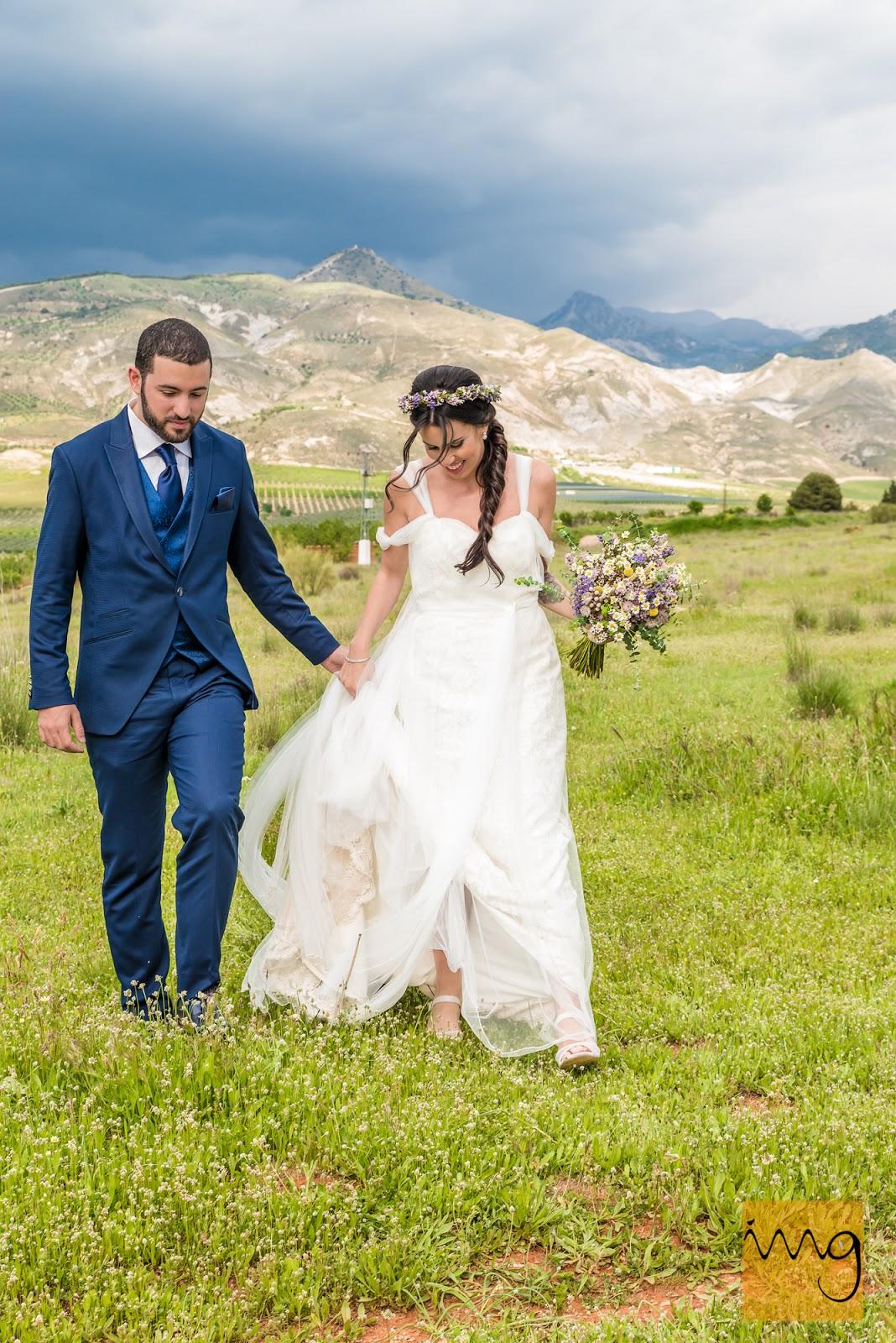 Reportaje de boda estilo fotoperiodístico en Granada