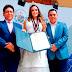 OTORGAN MEDALLA DE LA LIBERTAD A MISS PERÚ MUNDO 2018