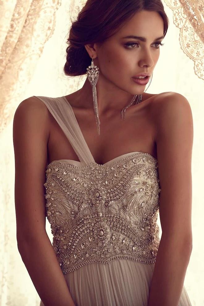 Anna campbell 2013 gossamer collection part 2 belle for Robes de mariage anna campbell