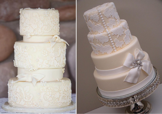 Wedding Trends Lace Cakes Belle The Magazine