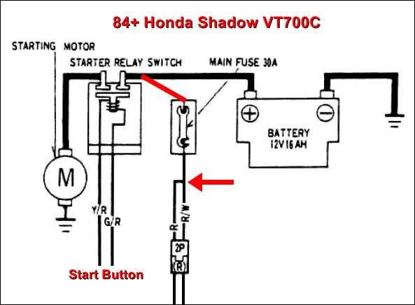 vt700 honda shadow wiring diagram honda shadow spark plug