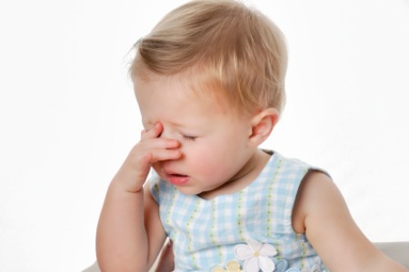 Focused on the Positive Frustrated Toddler