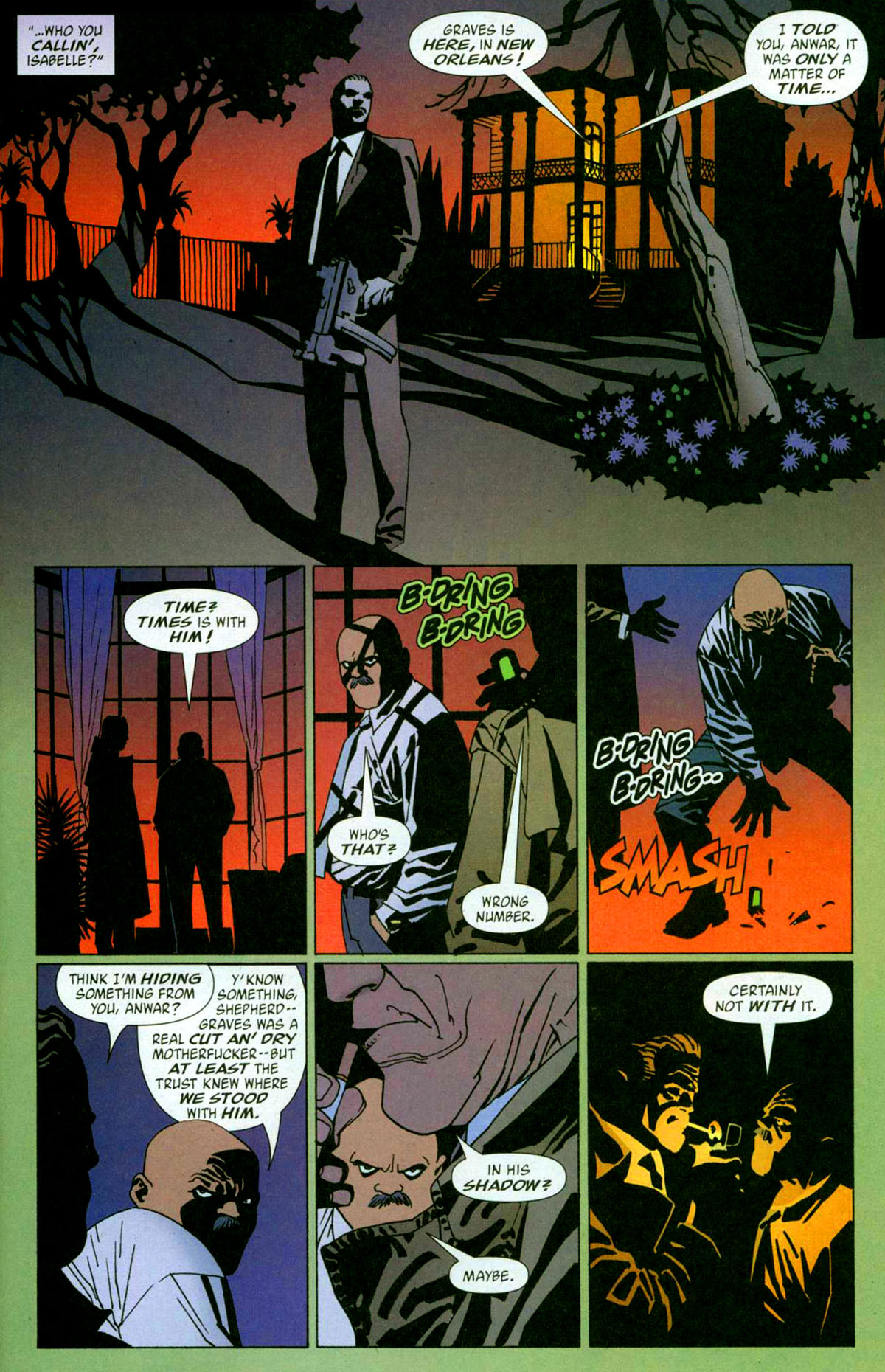 Read online 100 Bullets comic -  Issue #56 - 10