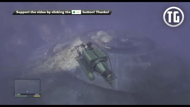 Bangkai UFO di Dasar Laut