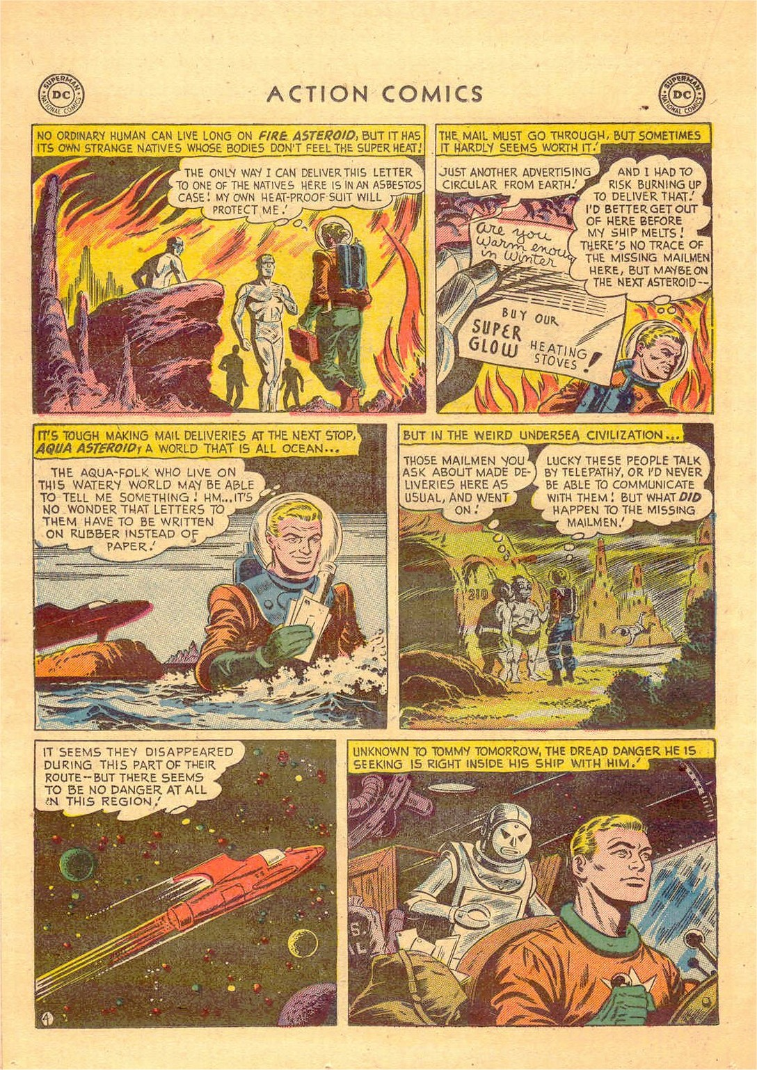 Read online Action Comics (1938) comic -  Issue #181 - 27