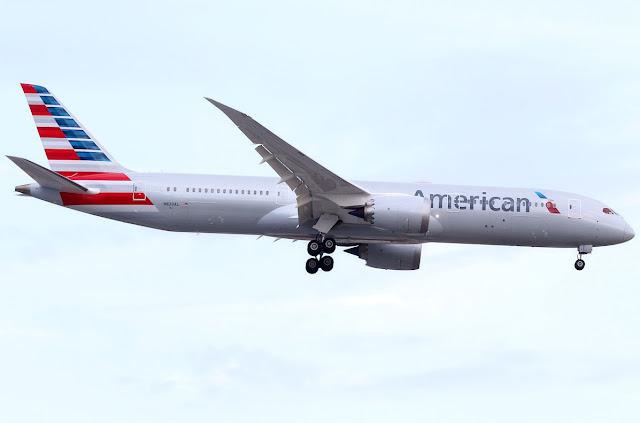 American Airlines empezará rutas con e Boeing 787-9 Dreamliner