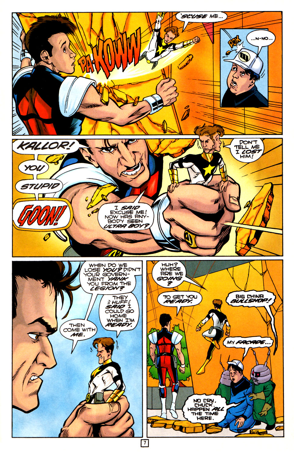 Legion of Super-Heroes (1989) 81 Page 6
