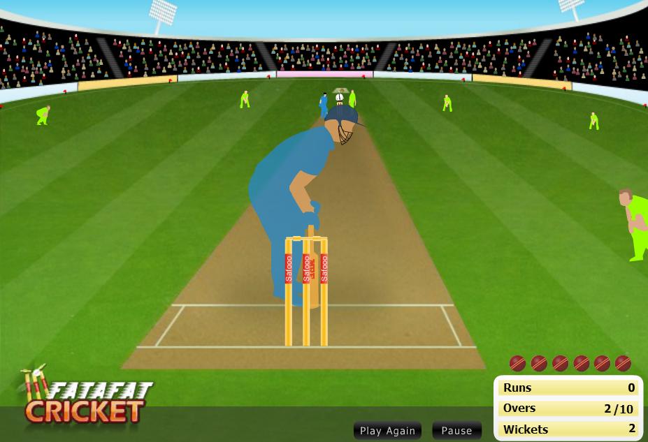 Stick Cricket Flash Game 6