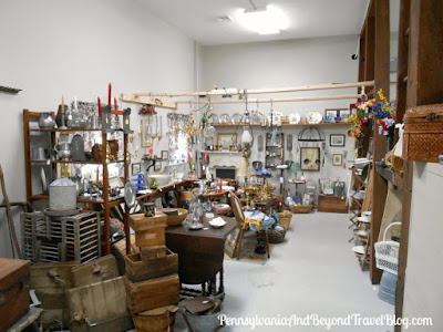 The Nest Antiques & More Shop in Palmyra